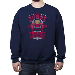Street Judge Trainee - Crew Neck Sweatshirt - Crew Neck Sweatshirt - RIPT Apparel