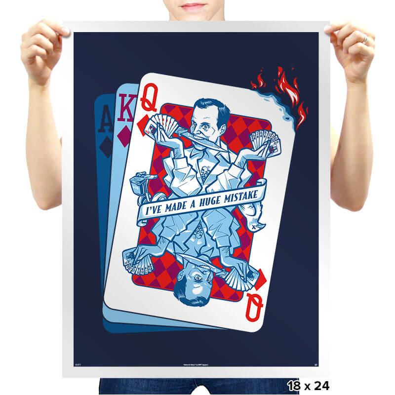 Gob of Diamonds - Prints - Posters - RIPT Apparel