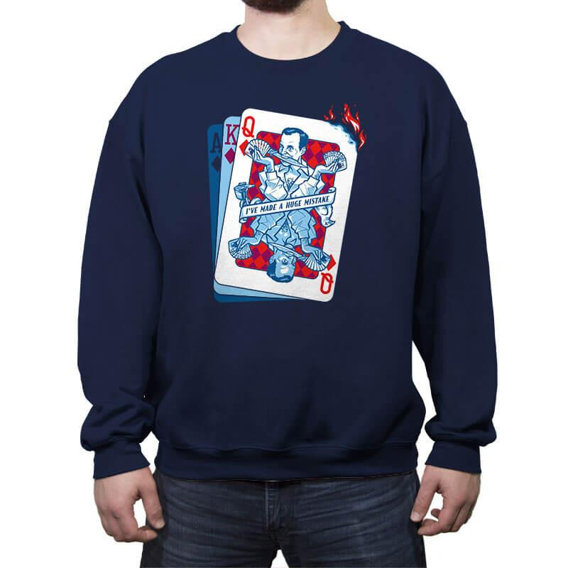 Gob of Diamonds - Crew Neck Sweatshirt - Crew Neck Sweatshirt - RIPT Apparel