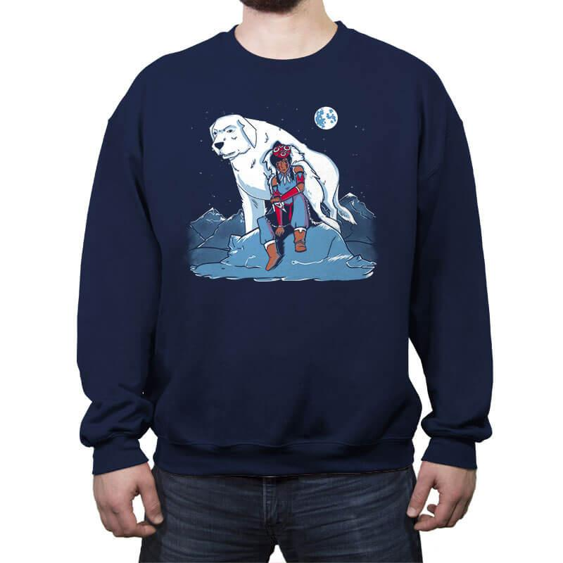 The Legend of Mononoke  - Crew Neck Sweatshirt - Crew Neck Sweatshirt - RIPT Apparel