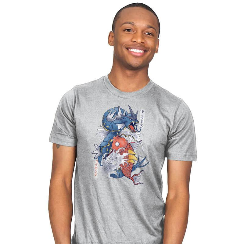 Koi Fish Evolution - Mens - T-Shirts - RIPT Apparel