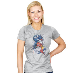 Koi Fish Evolution - Womens - T-Shirts - RIPT Apparel
