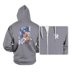 Koi Fish Evolution - Hoodies - Hoodies - RIPT Apparel