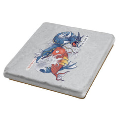 Koi Fish Evolution - Coasters - Coasters - RIPT Apparel