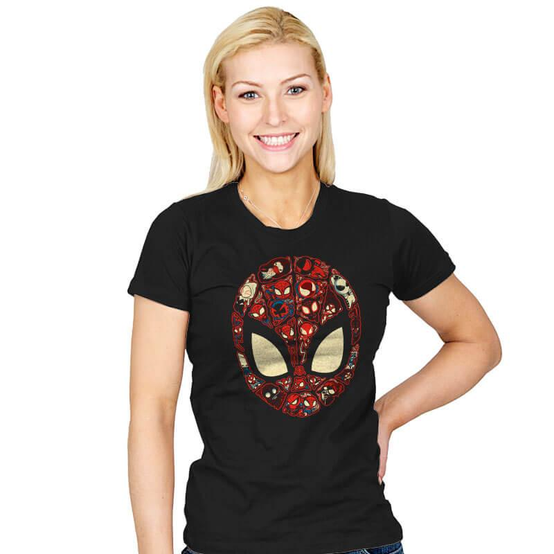 Marvelous Lil Spiders - Womens - T-Shirts - RIPT Apparel
