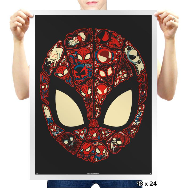 Marvelous Lil Spiders - Prints - Posters - RIPT Apparel