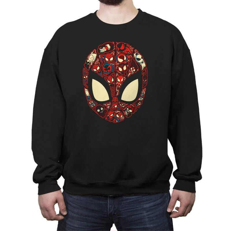 Marvelous Lil Spiders - Crew Neck Sweatshirt - Crew Neck Sweatshirt - RIPT Apparel
