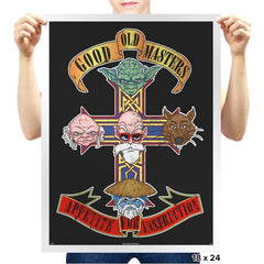 APPETITE FOR INSTRUCTION - Prints - Posters - RIPT Apparel