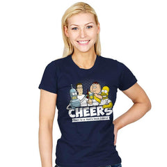 Cheers - Womens - T-Shirts - RIPT Apparel