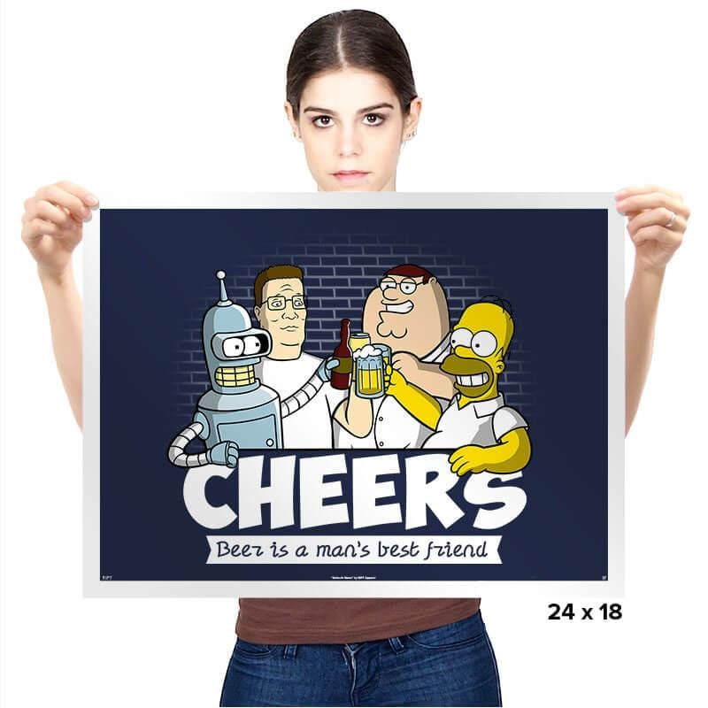 Cheers - Prints - Posters - RIPT Apparel