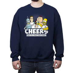 Cheers - Crew Neck Sweatshirt - Crew Neck Sweatshirt - RIPT Apparel