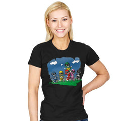 Friends of Morphin - Womens - T-Shirts - RIPT Apparel