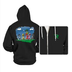 Friends of Morphin - Hoodies - Hoodies - RIPT Apparel