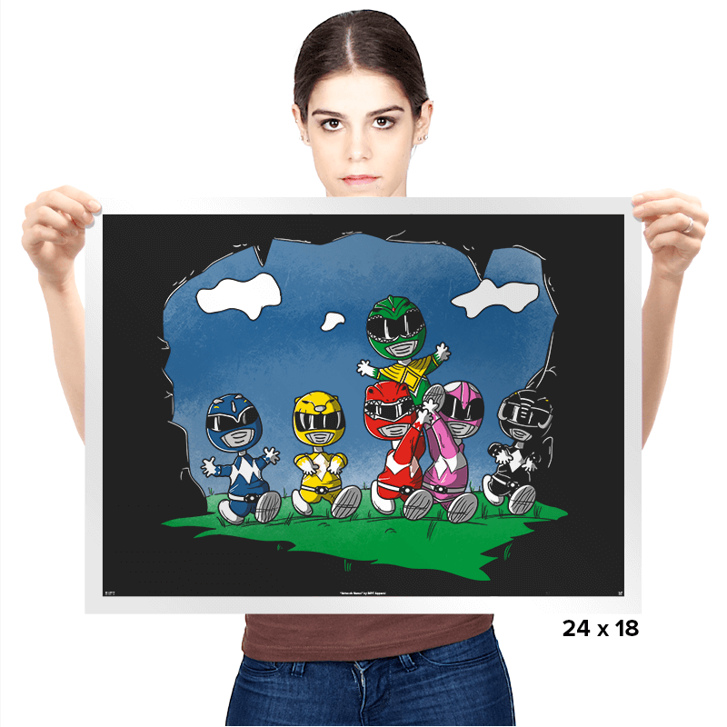 Friends of Morphin - Prints - Posters - RIPT Apparel