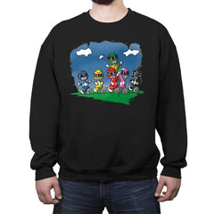Friends of Morphin - Crew Neck Sweatshirt - Crew Neck Sweatshirt - RIPT Apparel