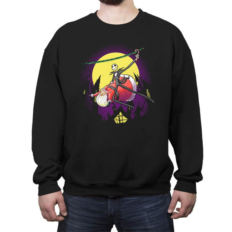 The Amazing Skeleton - Crew Neck Sweatshirt - Crew Neck Sweatshirt - RIPT Apparel