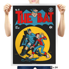 The Bat - Prints - Posters - RIPT Apparel