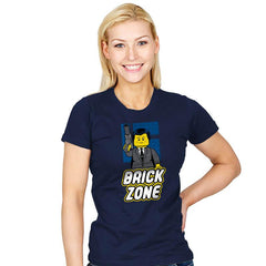 Brick Zone - Womens - T-Shirts - RIPT Apparel