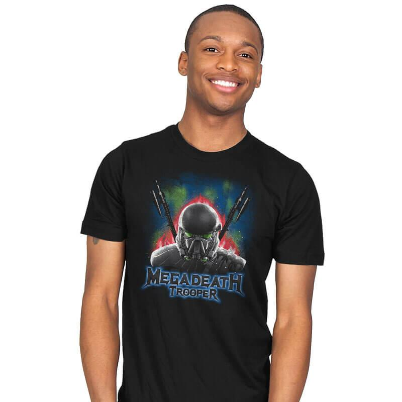MegaDeath Trooper - Mens - T-Shirts - RIPT Apparel