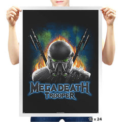 MegaDeath Trooper - Prints - Posters - RIPT Apparel