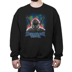 MegaDeath Trooper - Crew Neck Sweatshirt - Crew Neck Sweatshirt - RIPT Apparel