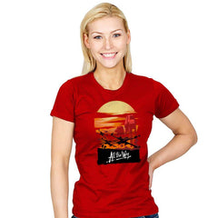All the Way - Womens - T-Shirts - RIPT Apparel