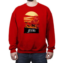 All the Way - Crew Neck Sweatshirt - Crew Neck Sweatshirt - RIPT Apparel