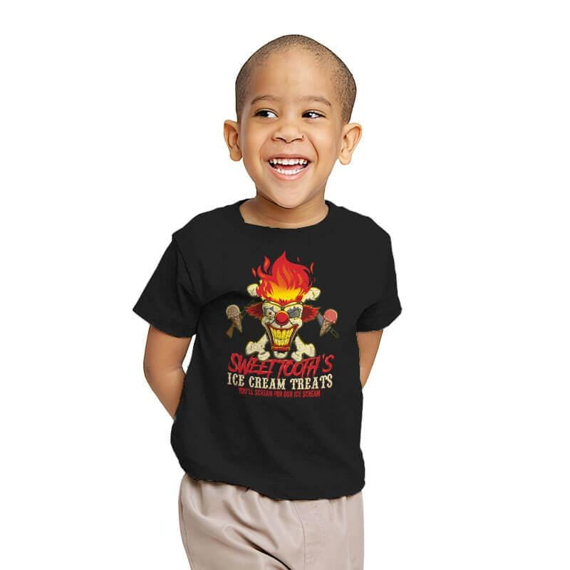 Sweet Tooth's Ice Cream Treats - Youth - T-Shirts - RIPT Apparel