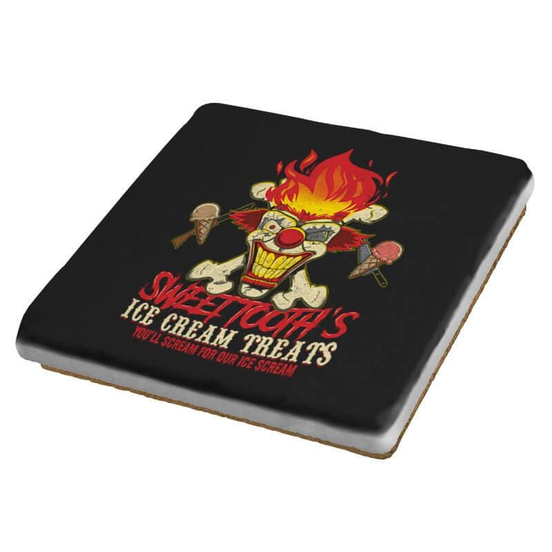Sweet Tooth's Ice Cream Treats Exclusive - Coasters - Coasters - RIPT Apparel