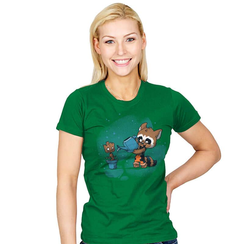 The Little Guardener - Womens - T-Shirts - RIPT Apparel