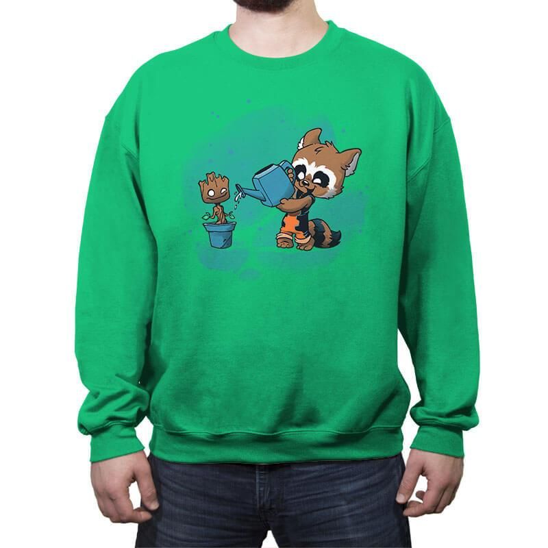 The Little Guardener - Crew Neck Sweatshirt - Crew Neck Sweatshirt - RIPT Apparel