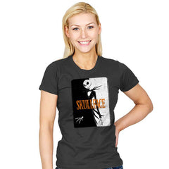 SKULLFACE - Womens - T-Shirts - RIPT Apparel