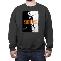 SKULLFACE - Crew Neck Sweatshirt - Crew Neck Sweatshirt - RIPT Apparel