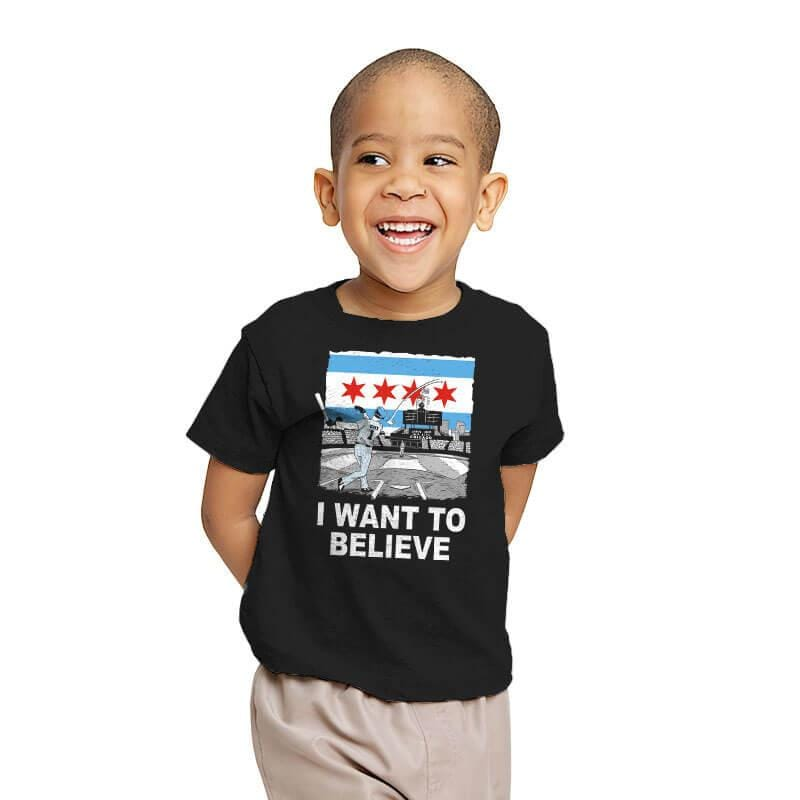 Chi Want To Believe Exclusive - Youth - T-Shirts - RIPT Apparel
