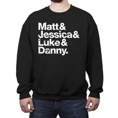 Defenders - Crew Neck Sweatshirt - Crew Neck Sweatshirt - RIPT Apparel