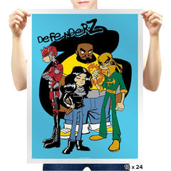 Defenderz - Prints - Posters - RIPT Apparel