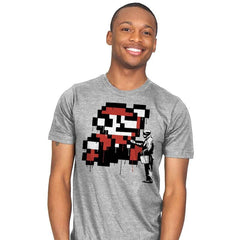 Graffiti Mario - Mens - T-Shirts - RIPT Apparel