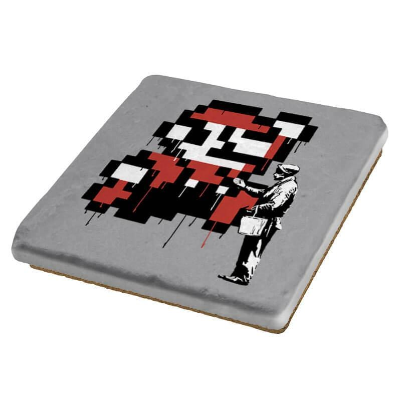 Graffiti Mario - Coasters - Coasters - RIPT Apparel