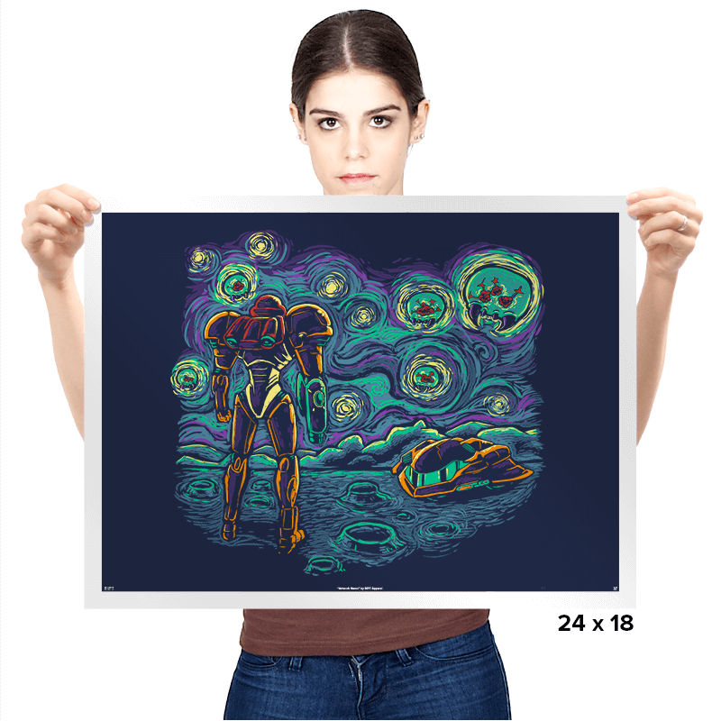 Starry Parasite - Prints - Posters - RIPT Apparel
