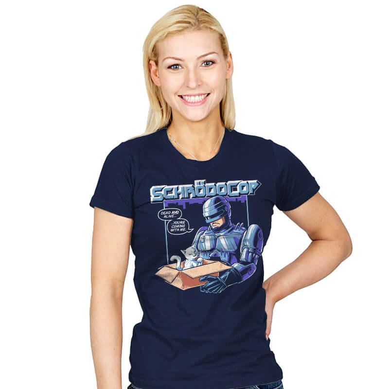SchrödoCop - Womens - T-Shirts - RIPT Apparel