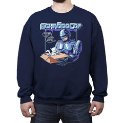 SchrödoCop - Crew Neck Sweatshirt - Crew Neck Sweatshirt - RIPT Apparel