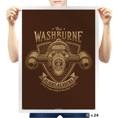Washburne Flight Academy - Prints - Posters - RIPT Apparel