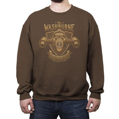 Washburne Flight Academy - Crew Neck Sweatshirt - Crew Neck Sweatshirt - RIPT Apparel
