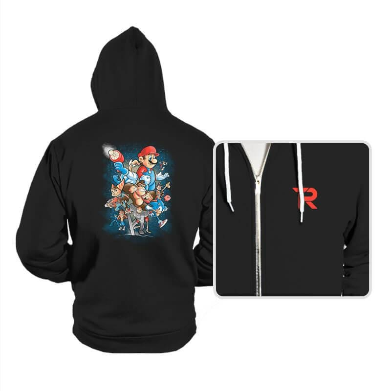 Gamer Force - Hoodies - Hoodies - RIPT Apparel