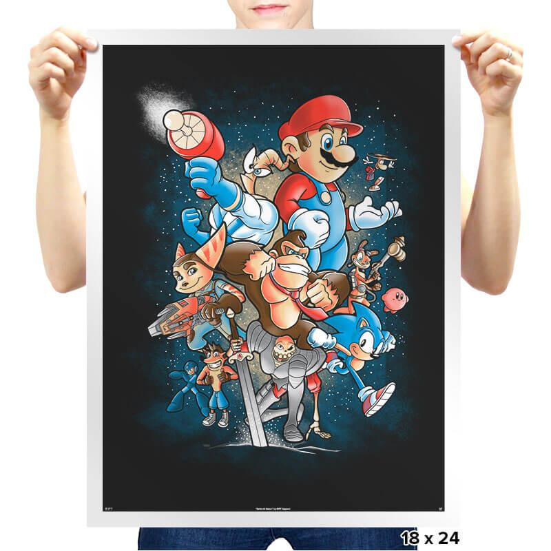 Gamer Force - Prints - Posters - RIPT Apparel