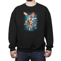Gamer Force - Crew Neck Sweatshirt - Crew Neck Sweatshirt - RIPT Apparel