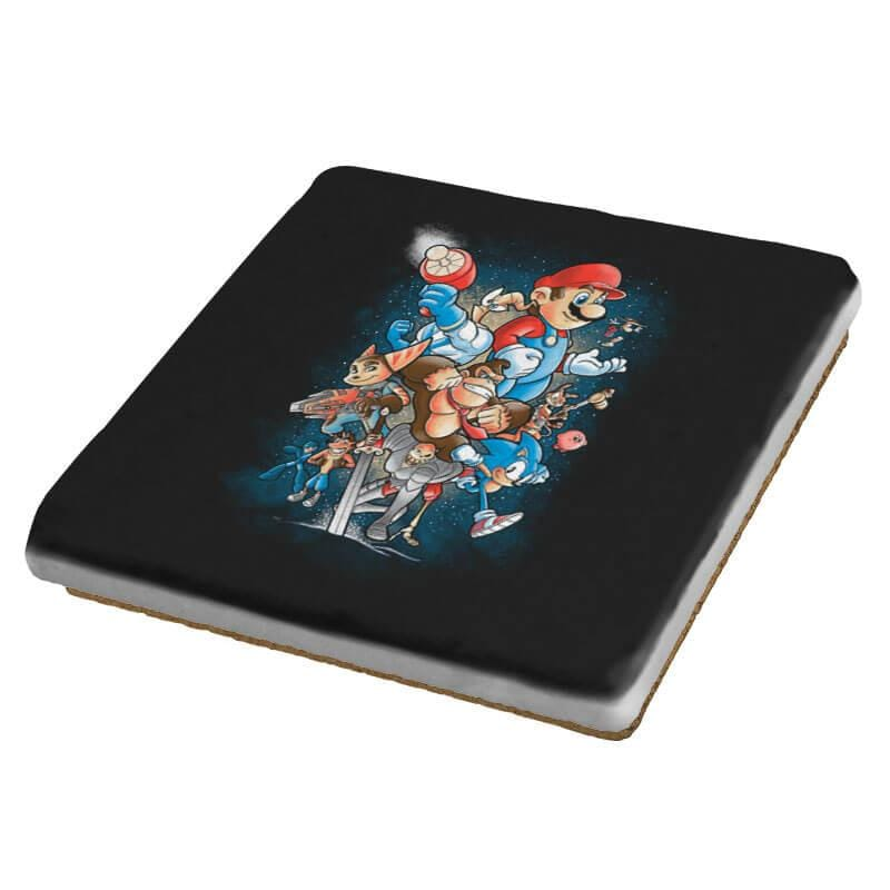 Gamer Force - Coasters - Coasters - RIPT Apparel