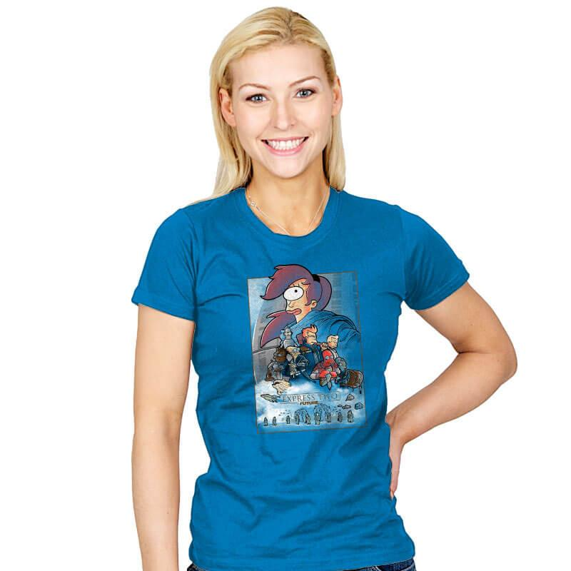 Express two - Womens - T-Shirts - RIPT Apparel