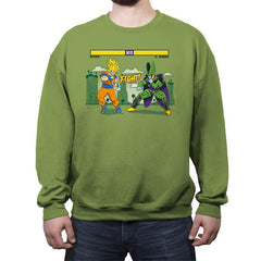 Dragon Fighter - Crew Neck Sweatshirt - Crew Neck Sweatshirt - RIPT Apparel