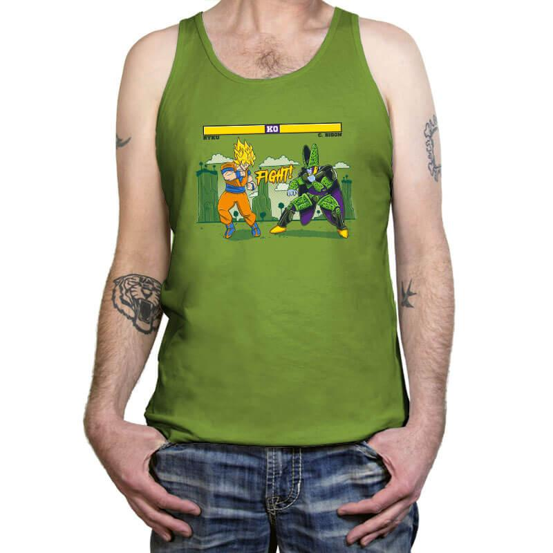Dragon Fighter - Tanktop - Tanktop - RIPT Apparel